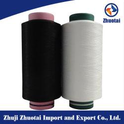 Haut 70150/144 spandex polyester élastique couvrant l'utilisation de denim Jean