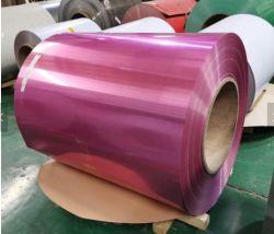 La striscia d'acciaio galvanizzata SGCC HDG della bobina ha galvanizzato la striscia d'acciaio d'acciaio del metallo ricoperta Zink della bobina in azione