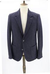 قميص رياضة الجيرسي للرجال من تصميم خاص باللون الأزرق البحري مصمم خصيصًا بحسب التصميم غير منظم Blazer