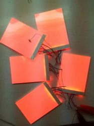 Custom Rojo Blanco SMD LED o LCD retroiluminación para Logo