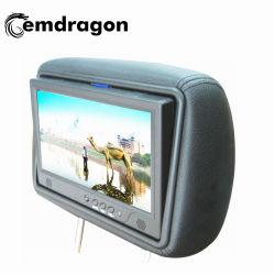 Appui-tête Ad OEM Player Taxi 9 pouce d'Alibaba haut Fabricant de panneaux de signalisation numérique LCD Kiosque alimentaire à l'extérieur de la conception de la publicité Marketing écran tactile