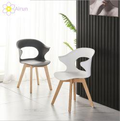 Nordischer moderner unbedeutender Haushalts-Vermittlungs-festes Holz-Plastikgegenständer-Aufenthaltsraum-Schreibtisch, der Stuhl speist