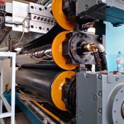 Plastik-PE/PP/PVC/ABS Film-Blatt-Vorstand-Produktionszweig, der Maschine für Endstöpsel des Beckens herstellt