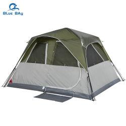 El Bluebay costumbres 6 persona automática de doble capa impermeable al aire libre instantánea de la azotea de coche La tienda del campamento para la familia Senderismo