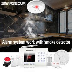 Rtc alarme sans fil de gros d'alarme antivol de sécurité à domicile