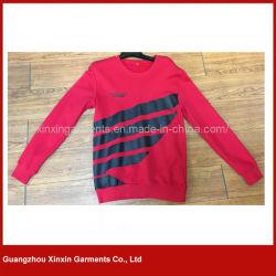 Мужские хлопок подкладка из флиса с помощью пользовательских Sweats Crewneck Custom Печать логотипа (T94)