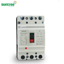 Suntree DC/AC 80A-1600A 3ポーランド人4のポーランド人によって形成されるケースの回路ブレーカNs Nsx MCCB