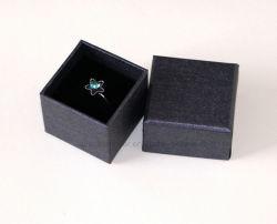 Bague argent bijoux de luxe artistique rigide avec coffret cadeau personnalisé