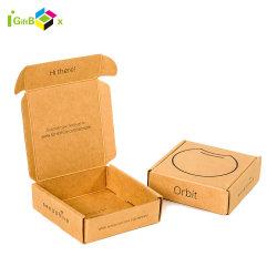 Pacote da caixa electrónica Unidade Flash USB Embalagem Caixa eletrônico com elemento de papel