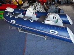 중국 직업적인 배 제조자 11.8FT 3.6m 섬유유리 Narwhal 팽창식 기술 세륨을%s 가진 군 경비정 Panga 배 선외 발동기 배 구조 배