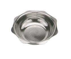 Aparato doméstico redondo de acero inoxidable olla plato caliente de la rozadura de HP007