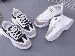 Fournisseur chinois de confortables chaussures Dernière Sneaker exécutant les hommes