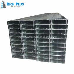 خفيفة [ستيل فرم] [غلفلوم] [ألوزينك] [أز100] [ك] شكل فولاذ قطاع جانبيّ لأنّ معدن بنايات