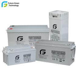Grünes Leitungskabel-saure Solarbatterien der Energieen-Energien-12V250ah