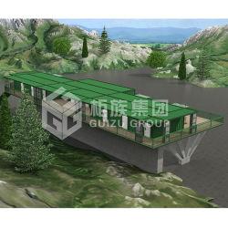Cor diferente Muplex Hotel de férias modular para a Estância Turística