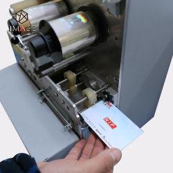 ホログラムパッチのフィルムのためのCr80 IDのカードのラミネータ機械