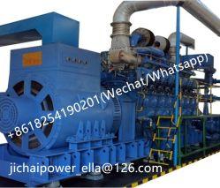 1MW 2MW 5MW 10MW Diesel+Gas si raddoppiano generatore 500kw 700kw 800kw del gas di potere Plant/LNG CNG Lfg Msw del gas di Genset del combustibile