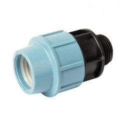 Verbindungsstück mit Außengewinde für Bewässerungsrohr
