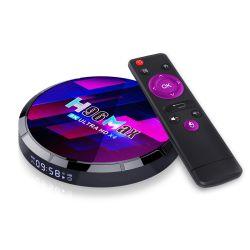 2021 Новый Smart TV H96 Max X4 Amlogic S905X4 4ГБ 32ГБ Телеприставки
