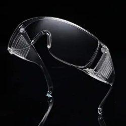유리 비말 저항하는 찰상에 보안경 시력 보호 안전은 방진 침 튀김 Anti-Fog 헬스케어 방어적인 Eyewear를 방지한다