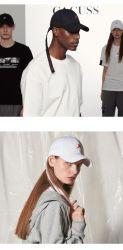 Tampas de pala-de-Adulto Personalizado promocional 3D Bordados Sport Golf Hat 6 boné de algodão do painel da tampa da correia de longa HAT
