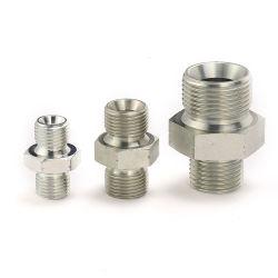 Connecteur mâle BSP de double utilisation Bouned joint l'adaptateur hydraulique
