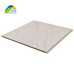 Textura 3D la hoja de cuarto de baño de mármol de PVC resistente al agua de los paneles que cubren la pared interior