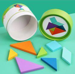 Les jouets pour enfants de taille différente Boîte ronde Package Boîte de stockage du papier Emballage Bidons de tube