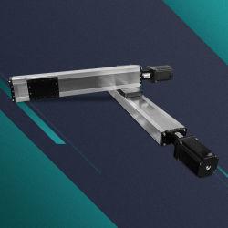 Линейная система движения тяжелого груза рычага робота манипулятором