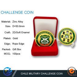 Cusotm Metal Art Craft التحدي العسكري Coin للفيلق البحري هدية للكوينز كوليكتور تكرم القوات الجوية العملات المعدنية