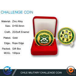 Cusotm Metal Art Craft Military Challenge Coin for Marine Corps Cadeau voor munten Collectors Supplement Air Force Honor munten