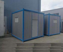 Trasformato 10 piedi dell'indicatore luminoso di bidone della spazzatura d'acciaio del container in India