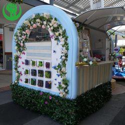 Fritadeira móveis personalizados Snacks Sorvete de caminhão de reboque Alimentar Cachorro Quente Carrinho de alimentar com churrasqueira