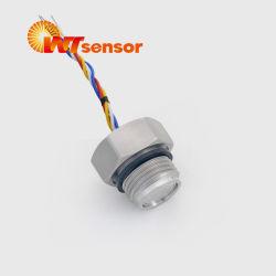 Transductor de presión de aceite de China para la industria sanitaria de calidad alimentaria Piezoresistive Transductor de presión CE