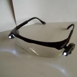 Occhiali di protezione di funzionamento di Eyewear di industria con il LED (JMC-398D)