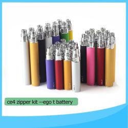 EGO T Ce4 Plus Blister Kit, Banheira de venda de 650mAh estilo de Traço EGO T Kit de vapores de gasolina