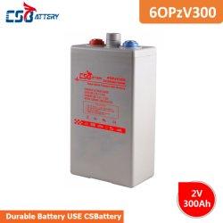 Csbattery 2V 300ahの海洋か自動車のための管状のゲルのOpzv電池かオートバイかBicycle/VFDシステム
