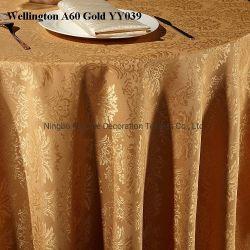 Damasco Jacquard Wellington Hotel pano de mesa decoração banquete de núpcias