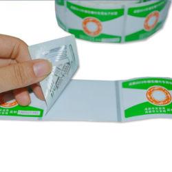 資材管理UHFの外国人H3 RFIDペーパーペットラベルの札