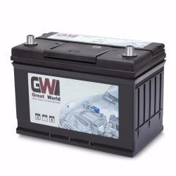 DIN75 MF 自動車用鉛酸自動車用バッテリ