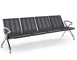 空港教会立の学校の病院端末の講堂のオフィスの鋼鉄待っているベンチの椅子