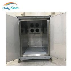 Almacenamiento en frío frigorífico pequeño recipiente de hielo