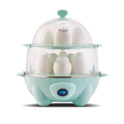 Doppelter Reihe-Ei-Kocher, Dampfkessel, schneller Hersteller u. Wilderer, Mahlzeit-Vorbereitung