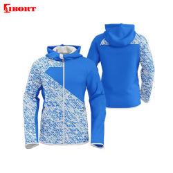 Les femmes OEM Aibort impression en sublimation plus taille veste de survêtement (T-SC-55)