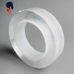 빨 수 있는 스티키 재사용할 수 있는 이동할 수 있는 두 배 편들어진 접착 테이프