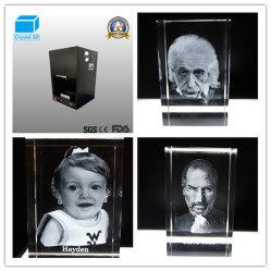 2020結晶レーザーの彫版のための普及したポータブル3Dの彫版機械