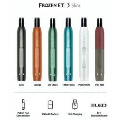 Comercio al por mayor e cigarrillo sano 1.6ml congelados et desechables líquidos E dispositivo Vape