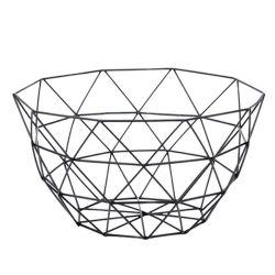 Renel moderno personalizados Tecidos de fios de metal / / Cesto de frutas