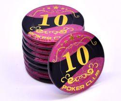 ポーカーチップカジノ標準アクリルポーカーチップ