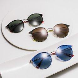 Zonnebril van het Metaal van het Embleem van de Unique Naam van de Douane van Eugenia 2020 de Italiaanse Brand Oculos DE Sol